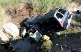 Suman 8 muertos por accidente carretero en Zapotiltic