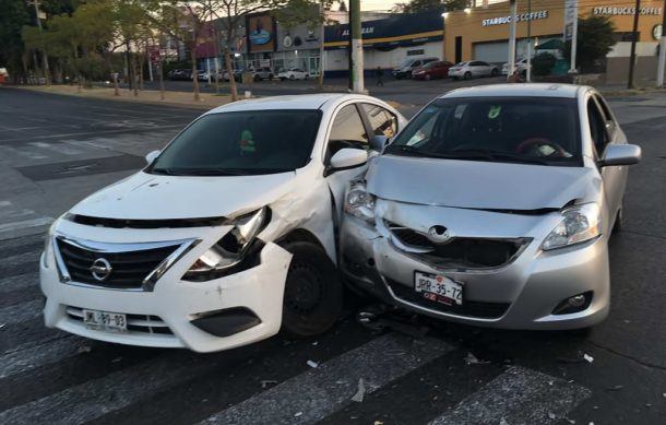 Accidentes y choques registrados esta mañana